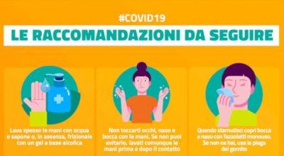 Nuovo Coronavirus: dieci comportamenti da seguire